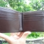 NEW COACH DOUBLE BILLFOLD WALLET IN SIGNATURE (COACH F75083) MAHOGANY/BROWN thumbnail 5