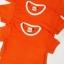 ขายส่ง ไซส์ L เสื้อกีฬาสีเด็ก เสื้อกีฬาเปล่าเด็ก เสื้อกีฬาสีอนุบาล สีส้ม thumbnail 4