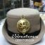 หมวกหม้อตาลหญิงสีกากี หน้าสิงห์โลหะ (พร้อมซองหมวก) thumbnail 1