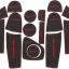 Slot Mat แผ่นยางรองในช่องรถยนต์ New Everest 2015 thumbnail 2