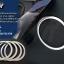 ทริมอลูมิเนียม รอบลำโพง บีเอ็มดับเบิ้ลยู Series3 F30 , Series3 GT F34 , Series4 F32 (Aluminium Trim) thumbnail 1
