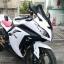 ชิวหน้า MOTOZAAA ทรง ZX10R สีขาว FOR KAWASAKI NINJA300 thumbnail 3