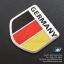 แผ่นโลโก้โลหะ ลายธงชาติเยอรมัน thumbnail 1