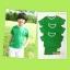 ปลีกตัวละ 50 บาท ไซส์ M เสื้อกีฬาสีเด็ก เสื้อกีฬาเปล่าเด็ก เสื้อกีฬาสีอนุบาล สีเขียว thumbnail 4