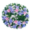 พวงหรีดดอกไม้สดขาวล้วน thumbnail 6