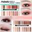 Hot สุดๆ( แบบใหม่/ของแท้) โนโว novo play color eyes eyeShadow พาเลทอายแชโดว์โทนสีหวานๆ สไตล์ดอกซากุระ house อายแชโดว์ thumbnail 3
