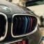 แถบสีพลาสติก M ติดกระจังหน้ารถ สำหรับ บีเอ็มดับเบิ้ลยู series3 F30 thumbnail 4