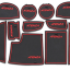 Slot Mat แผ่นยางรองในช่องรถยนต์ Mazda6 ATENZA thumbnail 2