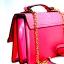 JASPAL กระเป๋าสะพายหนัง PU TOP HANDLE/CRYSTAL SNAKE สี PINK thumbnail 7
