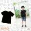 ปลีกตัวละ 50 บาท Size S เสื้อยืดดำเด็ก เสื้อยืดดำ เสื้อเด็กสีดำ เสื้อยืดเด็ก เสื้อเปล่าสีดำ เนื้อผ้าดี คุณภาพเยี่ยม thumbnail 3