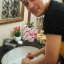 สบู่ จินซู เมือกหอยทากฟองยืด GinZhu Body Whitening mask soap พอกผิวขาว เพิ่มความขาว 10 ระดับ กล่องสีเหลือง ก้อนเหลือง thumbnail 26