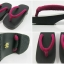 New Geta-07 รองเท้าเกี๊ยะทรงเตี๊ย ไม้สีดำ เชือกสีบานเย็นอ่อน thumbnail 5