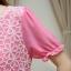 ชุดเดรสคลุมท้อง ผ้าชีฟอง ปักลายดอกไม้ด้านบน มี 3 สี thumbnail 5