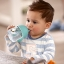 Philips Avent My Penguin Sippy Cup 9oz, Stage 2 Blue (6 months+) thumbnail 6