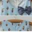 เสื้อคลุมท้อง สีฟ้า thumbnail 5