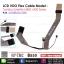 LCD Cable for TOSHIBA Satellite M800 U400 Series P/N: DD0BU2LC00 thumbnail 1