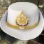 หมวกหม้อตาลหญิงสีขาว หน้าสิงห์ (พร้อมซองหมวก) thumbnail 2