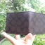 NEW COACH DOUBLE BILLFOLD WALLET IN SIGNATURE (COACH F75083) MAHOGANY/BROWN thumbnail 8