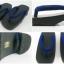 New Geta-010 รองเท้าเกี๊ยะทรงเตี๊ย ไม้สีดำ เชือกสีน้ำเงิน thumbnail 5