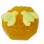 สบู่น้ำผึ้ง / สบู่นมผึ้ง / สบู่พรอพพอลิสผสมน้ำผึ้ง ขนาด 100 กรัม (น้ำผึ้งแท้ 100% จากฟาร์มผึ้งเกรด A )** thumbnail 1