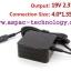 ASUS Original Adapter อแด๊ปเตอร์ของแท้ 19V 2.37A 45W หัว 4.0x1.35MM (แบบใหม่) thumbnail 1