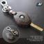 ซองหนังกุญแจ บีเอ็มดับเบิ้ลยู สีเทาเข้ม ด้ายแดง E46 E39 E60 E85 thumbnail 1