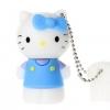 แฟลชไดร์ฟคิตตี้(Kitty) สีฟ้า ความจุ 8 GB.