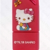 แฟลชไดร์ฟคิตตี้(Kitty) สีแดง สี่เหลี่ยม ความจุ 8 GB.