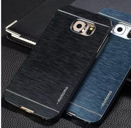 case samsung s6 edge plus เคสmotomo วัสดุpc+อลูมิเนียม