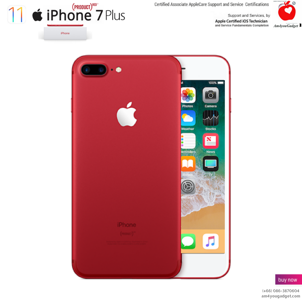 Apple iPhone 7 Plus (PRODUCT)RED™