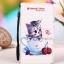 เคส lenovo k4 note (A7010) เคสหนัง pu leather เคสพับลายลูกแมวในแก้วน้ำ thumbnail 1
