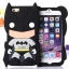 3D Cartoon Batman Batbear Soft Rubber Silicone Case Cover For iPhone 6/6s thumbnail 1