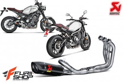 Akrapovic Fullsystem Carbon For Yamaha XSR900